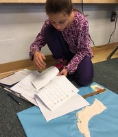 Identifying major landforms