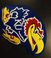 Jayhawk Patch