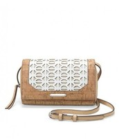 Nolita Medium Crossbody Geo Cork - $89 - Sample Sale Price $59
