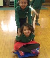 girls pair bobsledding duo :)