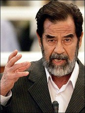 Saddam Hussein was the 5th president of Iraq from 1979 to 2003