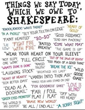 4. We Learn A Lot of Phrases from Shakespeare