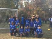 Ecoff Teachers, Players and Coach Aaron