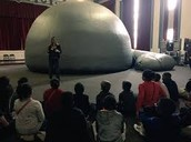 So excited that the Planetarium has come to WEMP