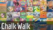 CHALK WALK SHOUT OUTS