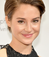 Shailine Woodley from the fault in our stars as vienna