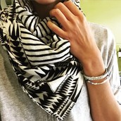 Union Square Tribal Scarf
