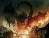 Smaug (Main Antagonist) ( Voice Played by: Benedict Cumberbatch)