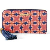 Mercer Wallet - Navy/Red