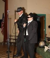 Blues Brothers Kick Off Monster Mash