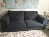 Charcoal color Sofa FREE to first pickup