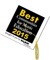"""Keller ISD Named one of the nation's """"Best Communities for Music Education"""" by the NAMM Foundation"""
