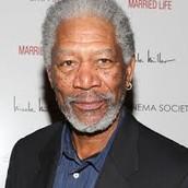 What does Morgan Freeman do?