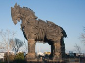 The Trojan Horse at Troy
