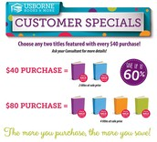 January Customer Specials