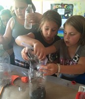 Creating Biodomes in Mrs. Talburt's Classroom