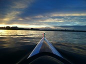 I've rowed for the college for all 4 years