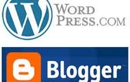 CMS: WordPress and Blogger