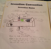 The final sketch of our invention