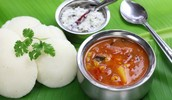 Indian (Traditional) Food: Idli