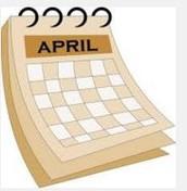 April Calendar Feedback