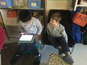 We created an educreation about our New Years Resolutions!