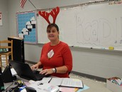 Little Red Reindeer (Mrs. McKinnon)