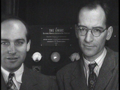 J Presper Eckert ( on the left)