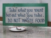 Less Wasted Food