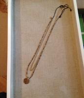 Aura Coin Drop Necklace $24.50
