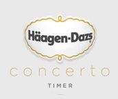 Häagen-Dazs Concerto Timer