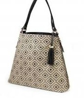 The Switch- Diamond Raffia Tote