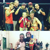 Mark Trader wins his belt!