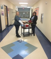 Mrs. Markgraf & Mrs. Holcomb Deliver Goodies!