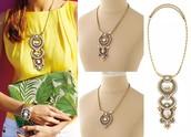 Havana Pendant Necklace Reg $89 -25% sale $67