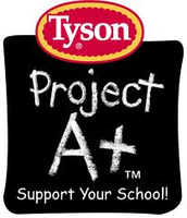 Tyson Project A+ helps our school!!