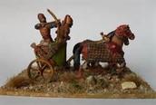 clay horse/charoit