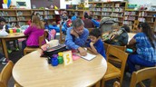 Kelly-Pharr Elementary parents join us for literacy hour
