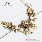 Gardenia Convertible Statement Necklace