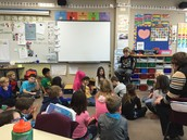 Student Sharing in Room 208