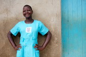 $20 will provide 4 Ugandan girls with washable and reusable sanitary menstrual kits for one year.