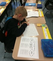 Students are working hard to sharpen their skills