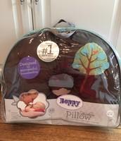 Boppy brown velour tree pillow $12
