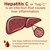 Hep c is the inflammation of the liver