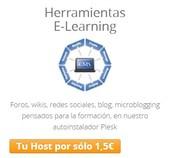 Herramientas E-learning por sólo 1,50€/mes