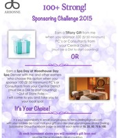 100+ Strong Sponsoring Challenge