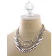 Sutton Necklace (silver)