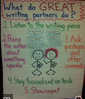 Review and model writing partner expectations