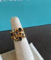 Stackable Gem Stone Ring Size 6 $15