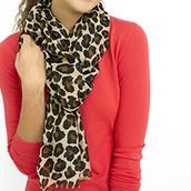 Leopard Scarf $15